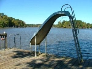 Slide on Lake Norman