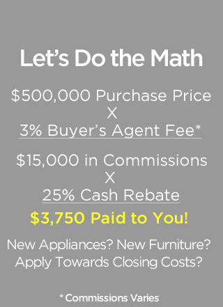 Do the Math on 25% Cash Rebate