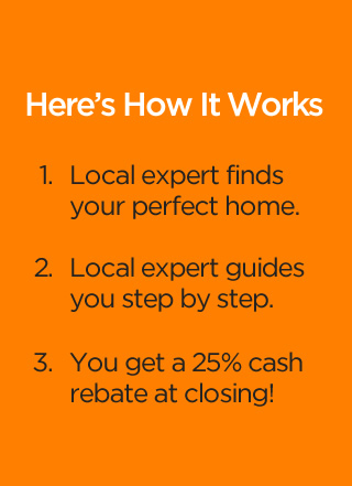 How It Works for 25% Cash Rebate